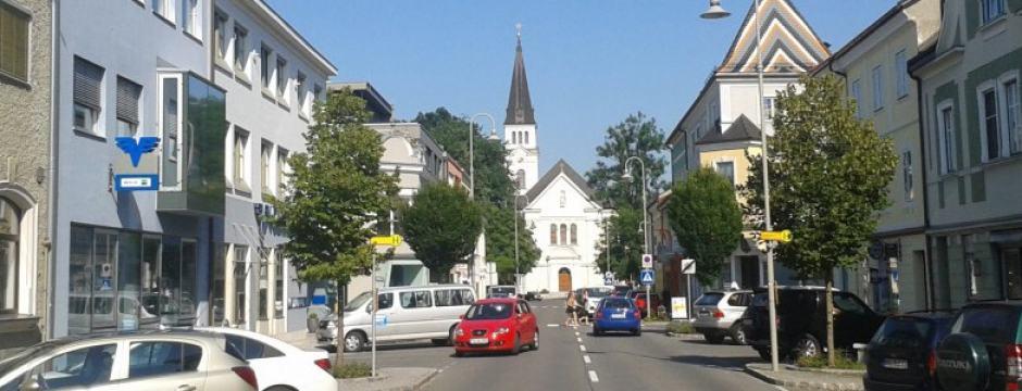Brückenstraße in Oberndorf bei Salzburg