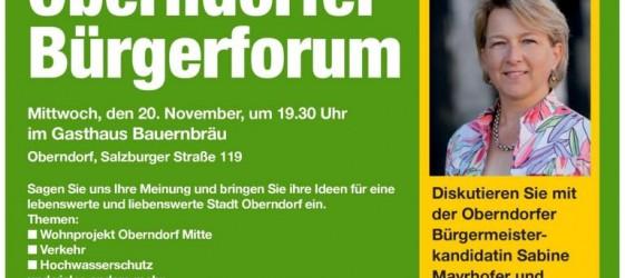 Bürgerforum ÖVP Oberndorf