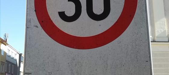 Tempo 30 in Oberndorf
