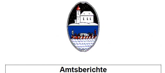 Amtsberichte Gemeindevertretung Oberndorf 07.05.2014