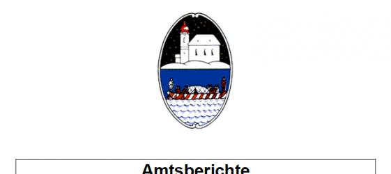 Amtsberichte Gemeindevertretung Oberndorf 02.07.2014