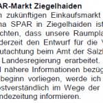SPAR-Markt Ziegelhaiden