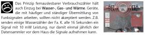 Aus der Broschüre ~Elektrosmog im Alltag~ vom Land Salzburg