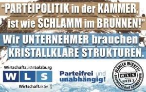 Wirtschaftsliste Salzburg - kristallklare Strukturen