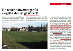 SPÖ Oberndorf - Spar Ziegelhaiden - Februar 2014