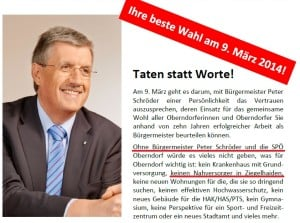 SPÖ Oberndorf - Spar Ziegelhaiden - März 2014