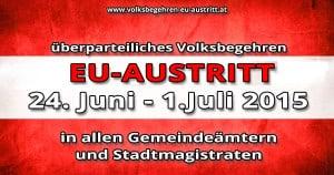 EU-Austritt Volksbegehren 2015