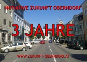 DREI JAHRE IZO - Initiative Zukunft Oberndorf