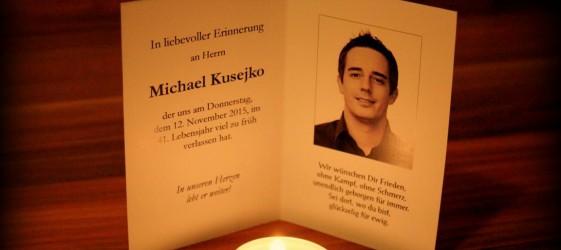 Nachruf Michael Kusejko