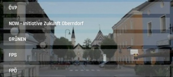 Wahlumfrage Oberndorf