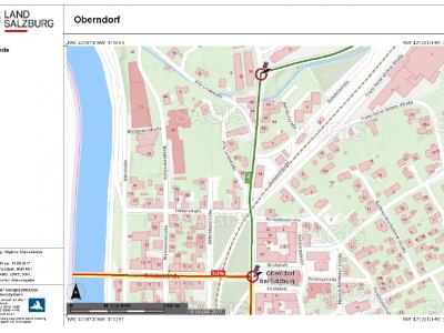 Sagis-Auszug Kreisverkehr Oberndorf