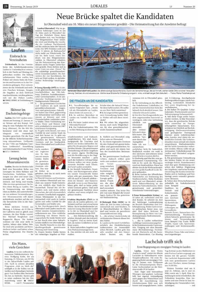 Bürgermeister Umfrage Südostbayerische Rundschau